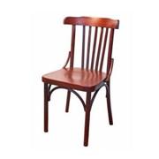 Деревянный венский стул Соло с жестким сиденьем фото