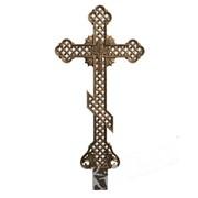 Крест чугунный на могилу КБ фото