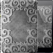 Чехол на iPad 5 Air Узор на металле 745c-26 фото