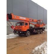 "Аренда автокрана 25 тонн КС 55713-2 ""Клинцы"" фото"