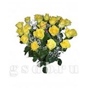 """Корзина желтых роз """"Для тебя"""" фото"""