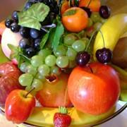 Муляж овощей и фруктов фото