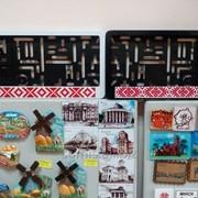 Рамки для номеров с национальными орнаментами. фото