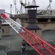 Монтаж и обслуживание антенных мачт фото
