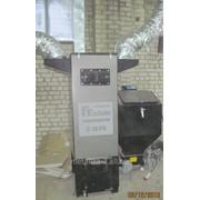 Котел воздушного отопления, твердотопливный на пелетах, с горелкой фото