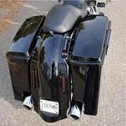 Боковые кофры Harley Touring модель подседельная сумка baga-5 дюймовый длина 93-13 фото