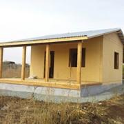 Дома каркасные деревянные. Канадская технология. СИП панели. фото