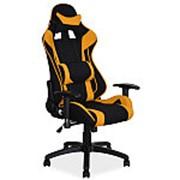 Кресло компьютерное Signal VIPER (черный/желтый) фото