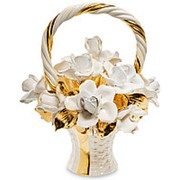 Композиция Корзина с розами 40х46х36см. арт.AHURA-119 фото