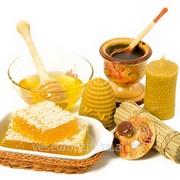 Мед натуральный,пыльца цветочная,воск пчелиный,вощина фото