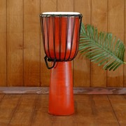 "Музыкальный инструмент барабан джембе ""Классика"" 50х23х23 см фото"