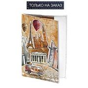 Обложка для паспорта Спаси и Сохрани, 009-08-М81 фото