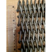 Спирально-стержневая транспортерная сетка фото
