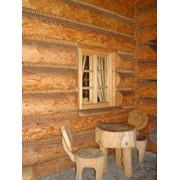 Дома ручная рубка Ф от 320мм - 550мм фото
