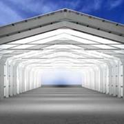 Проектирование металлоконструкций ангаров. Строительство быстровозводимых зданий из металлоконструкций, с использованием термопрофилей и ЛСТК фото