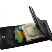 Зажим для денег черный фото
