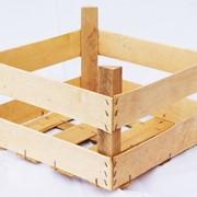 Ящики деревянные из шпона для ягод, фруктов, овощей, грибов и рыбы. фото