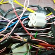 Комплекты электропроводки на тракторы и комбайны фото