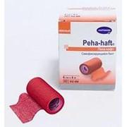 Peha-haft® / Пеха-хафт - самофиксирующийся бинт 4 м х 6 см, красный фото