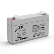 Аккумуляторная батарея AGM RITAR RT613, Gray Case, 6V 1.3Ah ( 97х24х 52 (58) ) Q20 фото