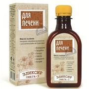"""Эликсир """"Для печени"""" (масло льняное) 200 мл фото"""