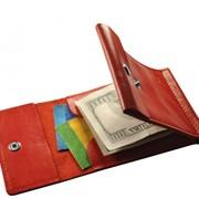 Зажим для денег красный фото
