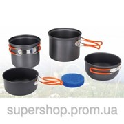 Набор посуды из анодированного алюминия Tramp 075 002432 фото
