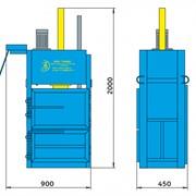 Пресс вертикальный пакетировочный ПГП-4-12 МИНИ фото