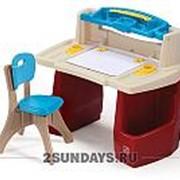Детский игровой столик для занятий Step 2 арт. 702500 фото