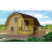 Дом из бруса Проект №8 (6х6) фото
