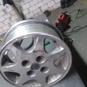 Сварка литых дисков фото