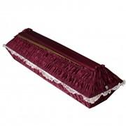 Гроб драпированный креп-сатин фото