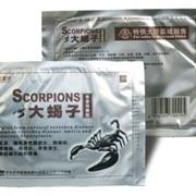 Обезболивающий пластырь ортопедический Скорпион фото