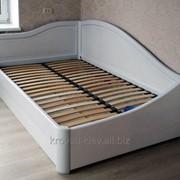 """Полуторная деревянная кровать """"Анна плюс"""" фото"""