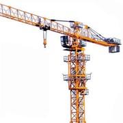 Аренда башенного крана QTZ125 фото