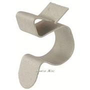 Клипса для крепления трубы к балке 4-7,5 мм диаметр 19-24 мм фото