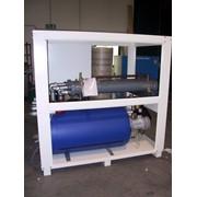 Охладитель (куллер, чиллер, охладитель жидкости) с водяным охлаждением конденсатора. фото