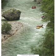 Сплав по реке,экстримальные туры. фото