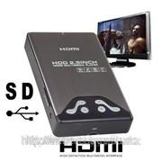 Портативный жесткий диск SATA 2.5 Мультимедиа плеер с HDMI-интерфейсом фото