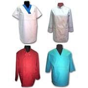 Куртки поварские, медицинские и сферы обслуживания фото