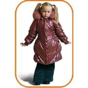 Пальто для девочки модель 3009 фото