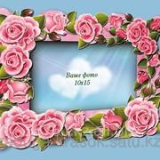 Объемная фоторамка Розовое вдохновение 10*15 фото