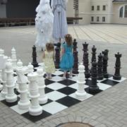 Аренда больших напольных шахмат КШ-36 фото