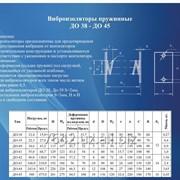 Виброизоляторы пружинные ДО 38- ДО 45 фото