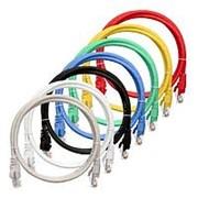 NMC-PC4SE55B-010-C-GY Патч-корд S/FTP 4 пары, Кат.6 (Класс E), 250МГц, 2хRJ45/8P8C, T568B, BC , 26AWG (7х0,165мм), LSZH нг(А)-HFLTx, серый, 1м фото