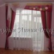 Дизайн штор для детской фото