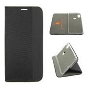 Чехол-книжка «Stylish Case» с магнитом Xiaomi Redmi 6 Черная фото
