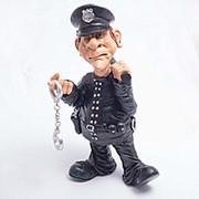 Статуэтка-фигурка Полицейский 25*10 см фото