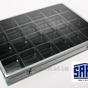 Алюминиевая витрина для коллекционного материала - SAFE Midi фото