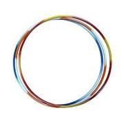 Обруч стальной гимнастический d 900мм утяжеленный (Труба 16 мм) 1,3кг двухцветные фото